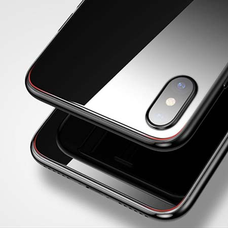 Hartowane szkło na Tył telefonu Apple iPhone X - bezbarwne