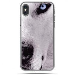 Etui na telefon iPhone XS - wilk