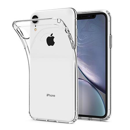 Etui na iPhone XR - silikonowe, przezroczyste crystal case.