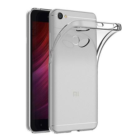 Etui na Xiaomi Redmi Note 5A Prime - silikonowe, przezroczyste crystal case.