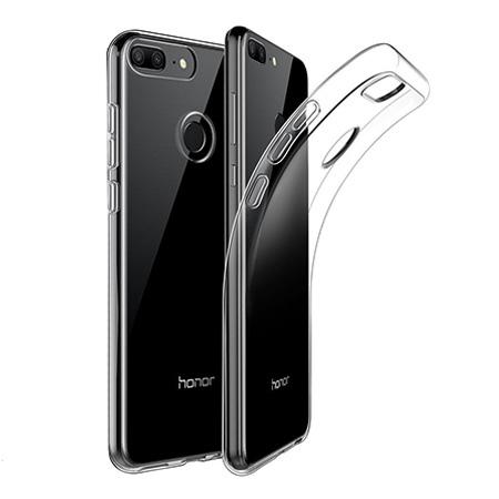 Etui na Huawei Honor 9 Lite - silikonowe, przezroczyste crystal case.