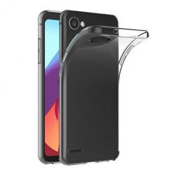 Etui na LG Q6 - silikonowe, przezroczyste crystal case.