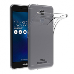 Etui na Asus ZenFone 3 Max - silikonowe, przezroczyste crystal case.