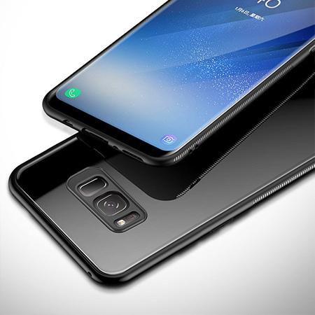 Etui na Samsung Galaxy S8 - GLAZZ Kejs - Czarny