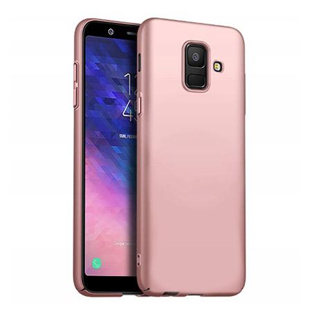 Etui na telefon Samsung Galaxy J6 2018 - Slim MattE - Różowy.