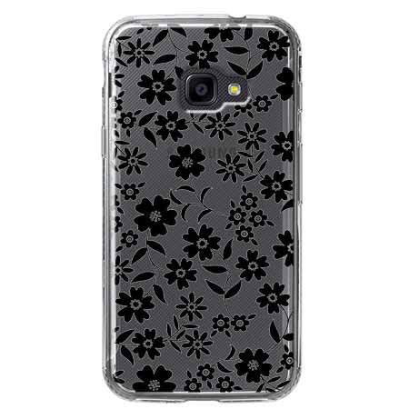 Etui na Samsung Galaxy Xcover 4 - Polne stokrotki nocą.