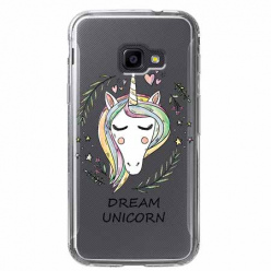 Etui na Samsung Galaxy Xcover 4 - Dream unicorn - Jednorożec.