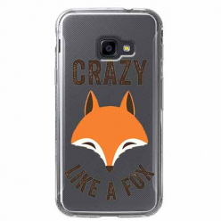 Etui na Samsung Galaxy Xcover 4 - Crazy like a fox.