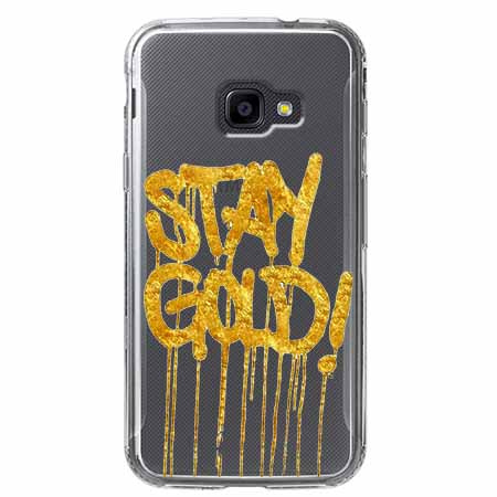 Etui na Samsung Galaxy Xcover 4 - Stay Gold.