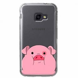 Etui na Samsung Galaxy Xcover 4 - Słodka różowa świnka.