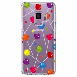 Etui na Samsung Galaxy S9 - Kolorowe lizaki.