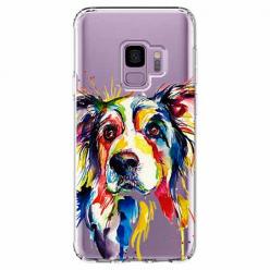 Etui na Samsung Galaxy S9 - Watercolor pies.