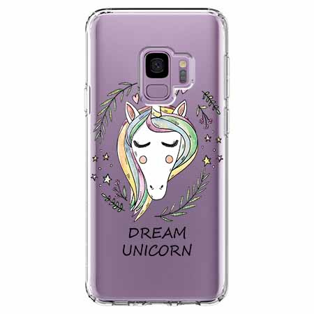Etui na Samsung Galaxy S9 - Dream unicorn - Jednorożec.
