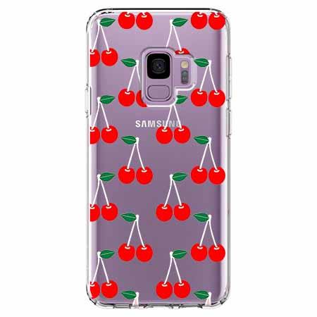 Etui na Samsung Galaxy S9 - Wiśniowa plejada.