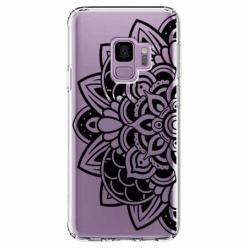 Etui na Samsung Galaxy S9 - Kwiatowa mandala.