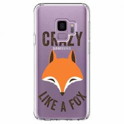 Etui na Samsung Galaxy S9 - Crazy like a fox.