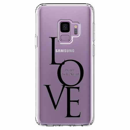 Etui na Samsung Galaxy S9 - All you need is LOVE.