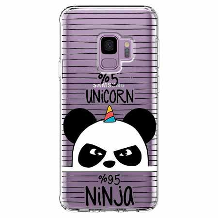 Etui na Samsung Galaxy S9 - Ninja Unicorn - Jednorożec.