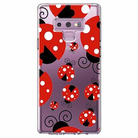Etui na Samsung Galaxy Note 9 - Czerwone wesołe biedronki.