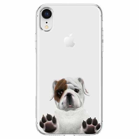 Etui na telefon Apple iPhone XR - Słodki szczeniaczek.
