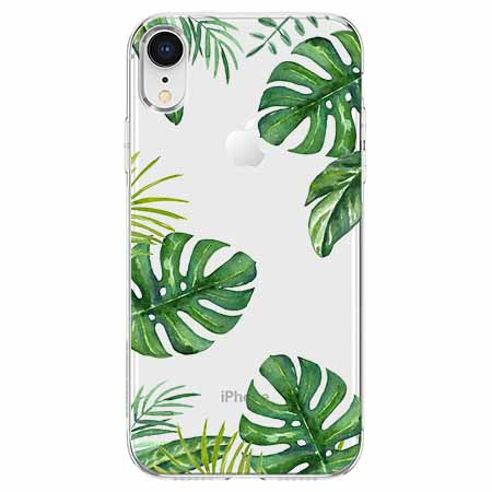 Etui na telefon Apple iPhone XR - Welcome to the jungle.