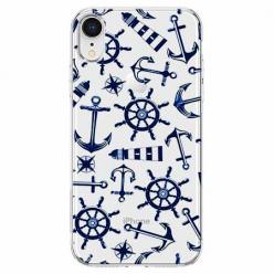 Etui na telefon Apple iPhone XR - Ahoj wilki morskie.
