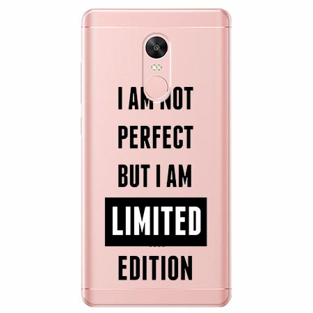 Etui na telefon Xiaomi Redmi 5 - I Am not perfect…