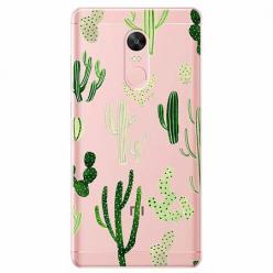 Etui na telefon Xiaomi Redmi 5 - Kaktusowy ogród.