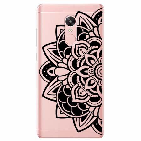 Etui na telefon Xiaomi Redmi 5 - Kwiatowa mandala.