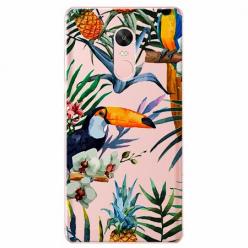 Etui na telefon Xiaomi Redmi 5 - Egzotyczne tukany.