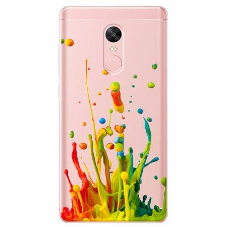 Etui na telefon Xiaomi Redmi 5 - Kolorowy splash.