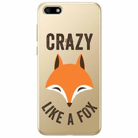 Etui na telefon Huawei Y5 2018 - Crazy like a fox.