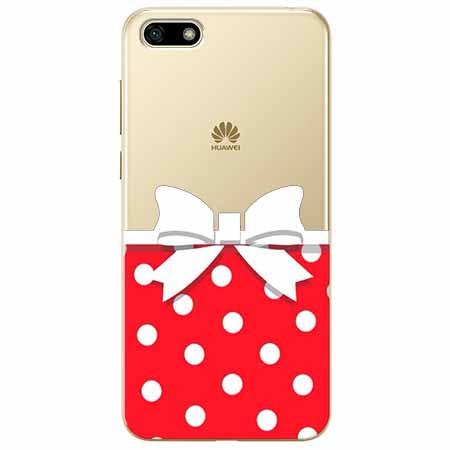 Etui na telefon Huawei Y5 2018 - Gustowna kokardka.