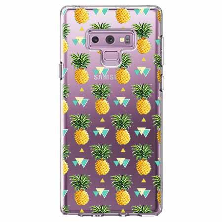 Etui na Samsung Galaxy Note 9 - Ananasowe szaleństwo.