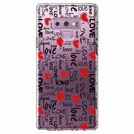Etui na Samsung Galaxy Note 9 - Love, love, love…