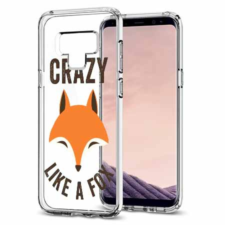 Etui na Samsung Galaxy Note 9 - Crazy like a fox.