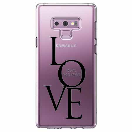 Etui na Samsung Galaxy Note 9 - All you need is LOVE.