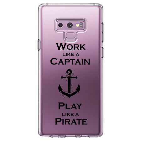 Etui na Samsung Galaxy Note 9 - Work like a Captain…