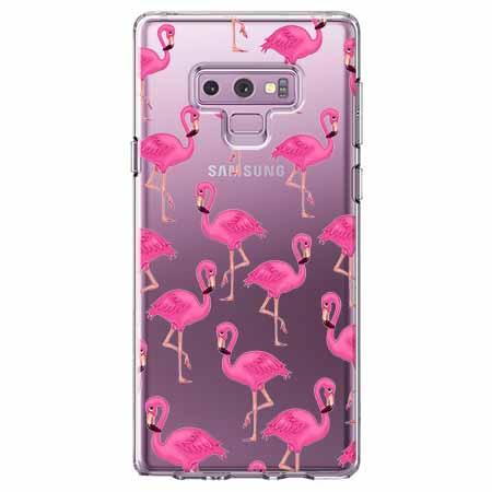 Etui na Samsung Galaxy Note 9 - Różowe flamingi.