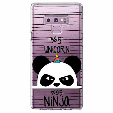 Etui na Samsung Galaxy Note 9 - Ninja Unicorn - Jednorożec.