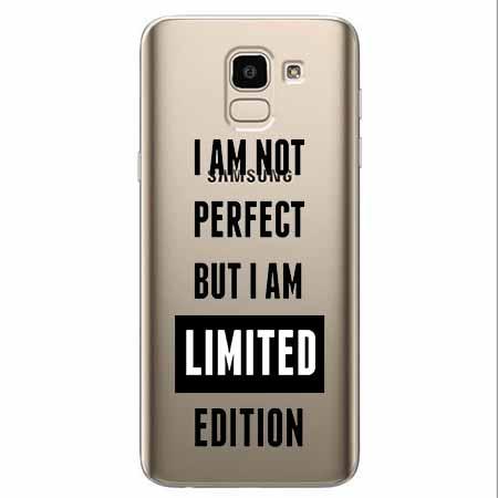 Etui na Samsung Galaxy J6 2018 - I Am not perfect…