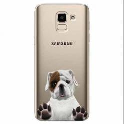 Etui na Samsung Galaxy J6 2018 - Słodki szczeniaczek.