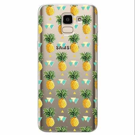 Etui na Samsung Galaxy J6 2018 - Ananasowe szaleństwo.