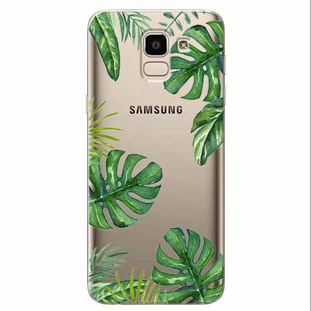 Etui na Samsung Galaxy J6 2018 - Welcome to the jungle.