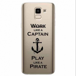 Etui na Samsung Galaxy J6 2018 - Work like a Captain…