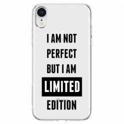 Etui na telefon Apple iPhone XR - I Am not perfect…