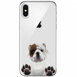 Etui na telefon Apple iPhone XS Max - Słodki szczeniaczek.