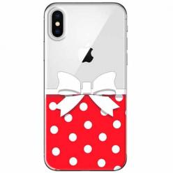 Etui na telefon Apple iPhone XS Max - Gustowna kokardka.