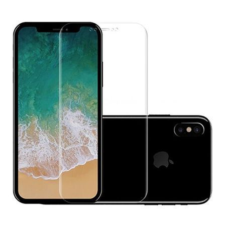 Hartowane szkło na cały ekran 3d iPhone XS - Bezbarwny.