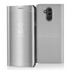 Etui na Huawei Mate 20 Lite - Flip Clear View z klapką - Srebrny.
